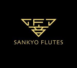 Sankyo Logo on Black